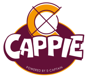 Logo Cappie Powered by e-Captain